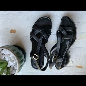 Cole Haan Nike Air Leather Sandals Size 8 EUC